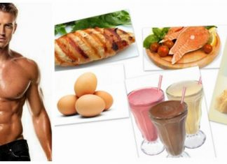 chế độ dinh dưỡng cho người mới tập thể hình