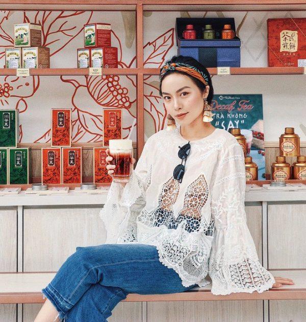 gu thời trang nổi bật của Hà Trúc