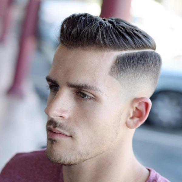kiểu tóc side part đẹp cho nam