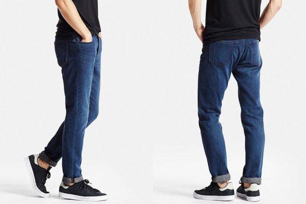 Quần jeans Uniqlo- thương hiệu skinny jeans