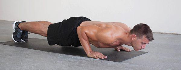 chống đẩy tập gym tại nhà