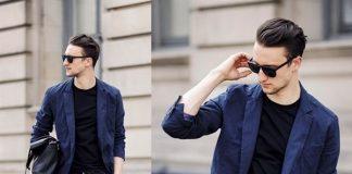 Cách phối đồ nam với quần jean và áo vest