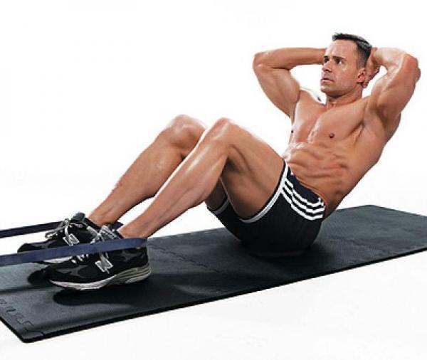 tập cơ bụng-bài tập gym tại nhà cho nam