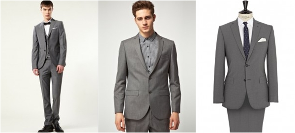 Trang phục công sở cho nam nên chọn Màu xám