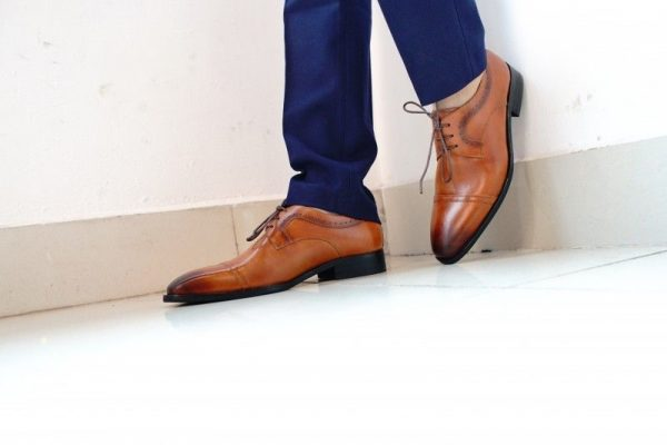 Plain Toe Oxford James Blanc CLASSIC