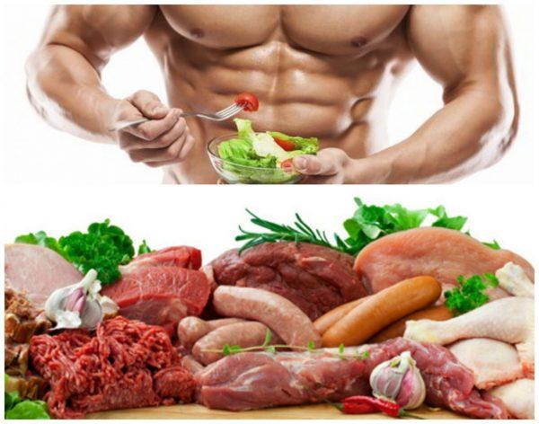 Thịt bò thực phẩm tăng cơ bắp