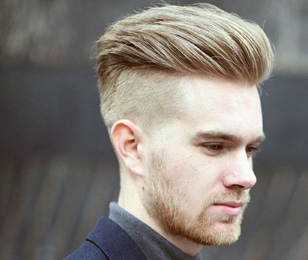 Kiểu tóc uốn nhẹ Undercut Quiff