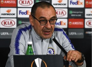 HLV Sarri dọa rời Chelsea ngay trước chung kết Europa League