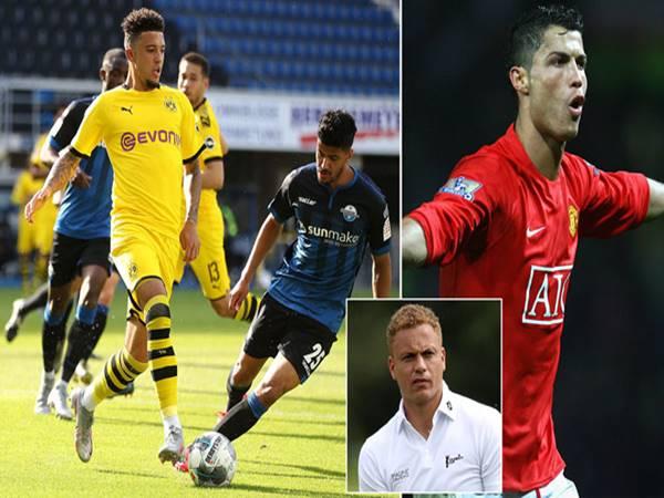 Sancho hay như Ronaldo, bài học từ vụ Haaland