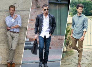 Cách phối màu quần áo nam giới