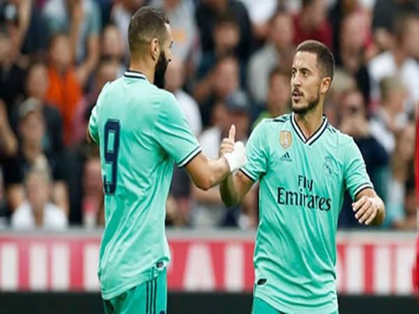 Nhận xét từ Hazard về những ngôi sao của CLB Real Madrid