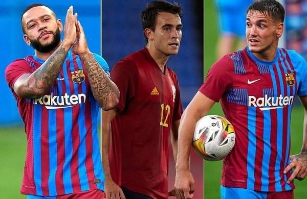 Barcelona đăng ký Depay, Garcia và Manaj - với Aguero vẫn không có trong đội