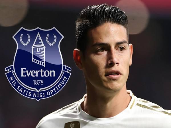 James Rodriguez gia nhập Everton